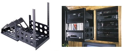 Use Middle Atlanticu0027s SRS Sliding Rackrail System To Mount Smaller A/V  Equipment Into Cabinets, Wall Cut Outs Or Entertainment Centers.